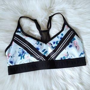 VS PINK Ultimate lightly lined mesh back sport bra
